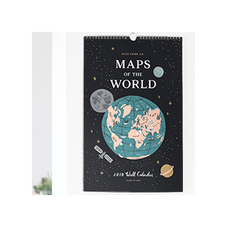 Maps of the world 2018