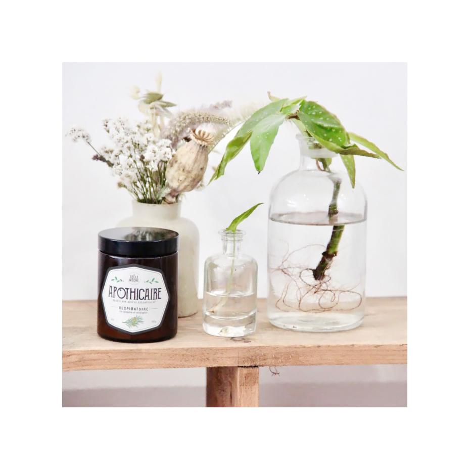 bougie parfum e par la belle m che collection apothicaire. Black Bedroom Furniture Sets. Home Design Ideas