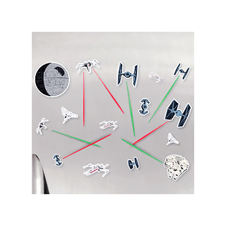 Star Wars lasers battle magnets