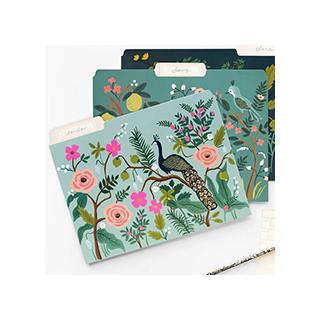 Shangai garden file folders