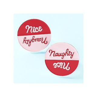 Naughty / Nice pin's