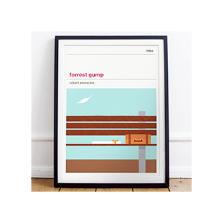 Affiche cinéma - Forrest Gump