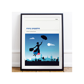 Affiche cinéma - Mary Poppins