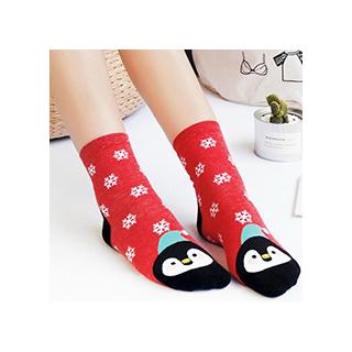 Winter animals socks