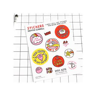 I Wish I Still Got Stickers for Doing Stuff