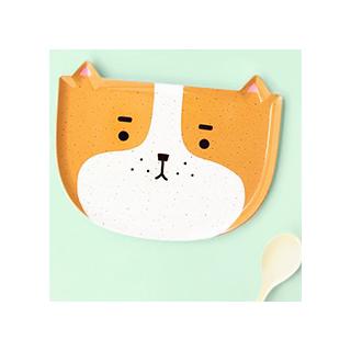 Polkaros plate - dog