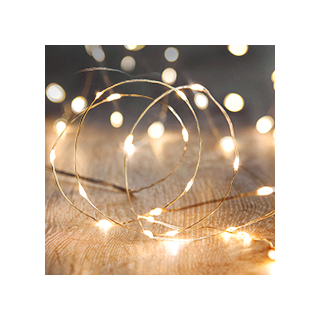 Wire string lights