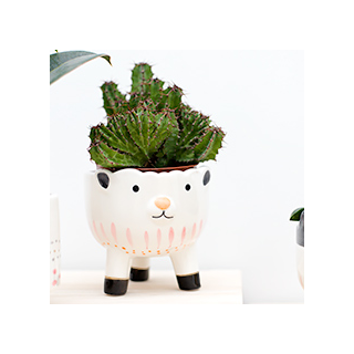 Animal flower pot - mouton