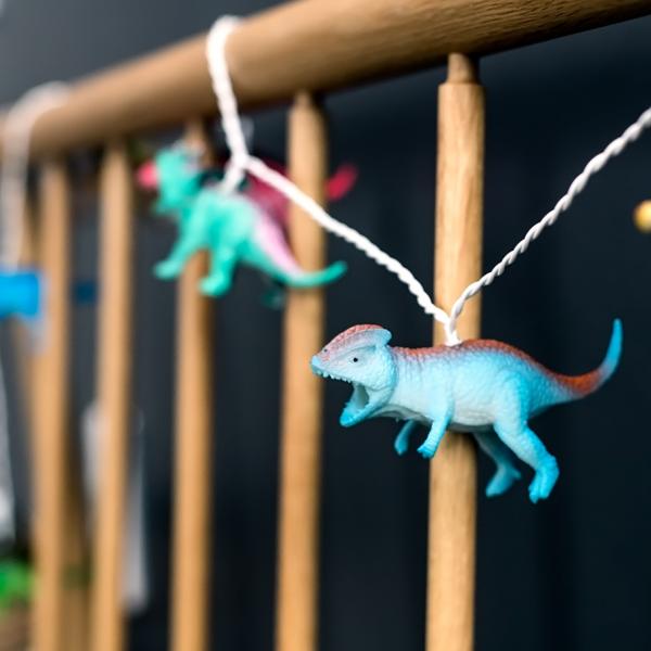 Guirlande dinosaures - bright
