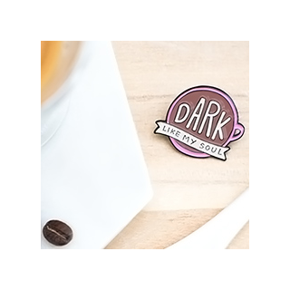 Dark like my soul pin's