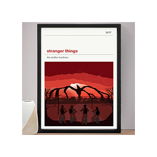 Affiche série - Stranger Things (saison 2)