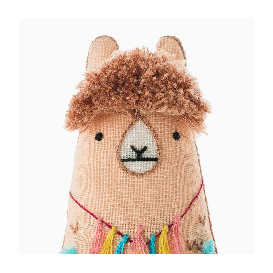 Diy embroidery animal plush kit