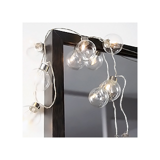 Clear party lights