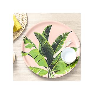 Plateau feuilles de bananier