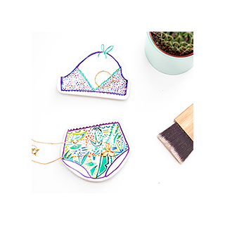 Bikini jewels trays