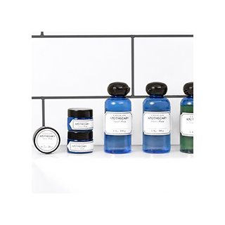 Apothecary travel set (blue version)