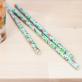 Pailles en papier - motif tropical