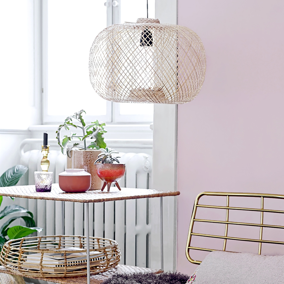 Bamboo Pendant Light By Bloomingville