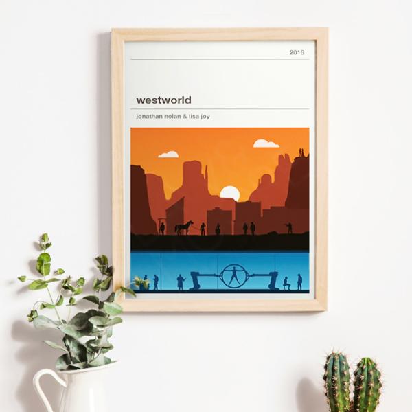Affiche série - Westworld