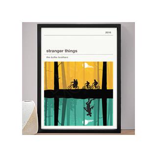 Affiche série - Stranger Things (saisons 1 et 2)