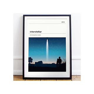 Affiche cinéma - Interstellar
