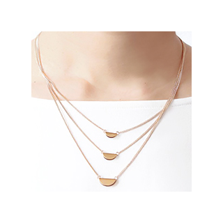 Collier demi-cercles