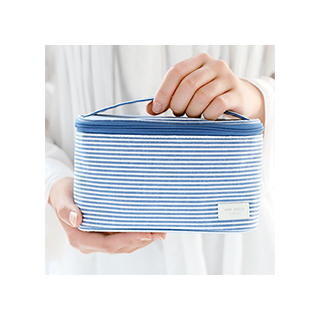 Trousse de toilette - blue stripe