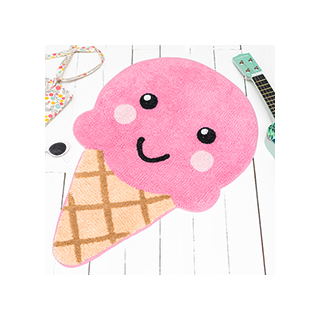 Happy ice cream rug