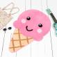 Happy ice cream rug