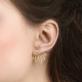 Clous d'oreilles - Sansa ear jackets