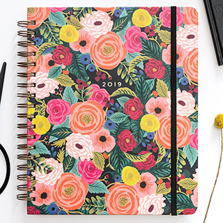 Agenda Rifle Paper 2019 - Juliet rose