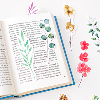 Plants bookmarkers