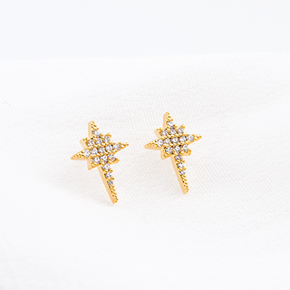 Clous d'oreilles Morning star