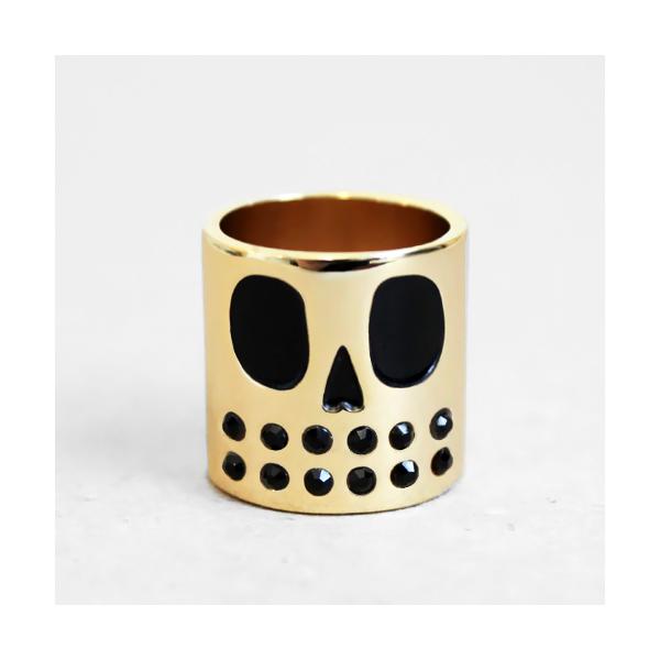 Bague Grim skull