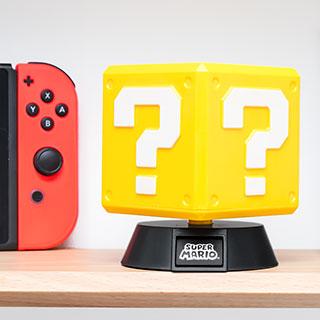 Super Mario mini lampe - Bloc question