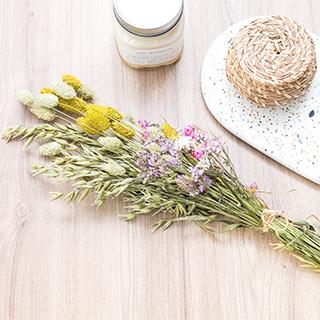 Bouquet de fleurs séchées (moyen)