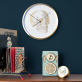 Curios Skull wall clock