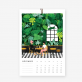 Calendrier 2019 - Urban jungle