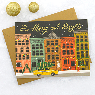 Carte Rifle Paper - City holiday