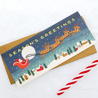 Carte Rifle Paper - Santa's greetings