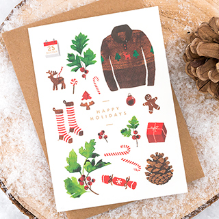 Christmas card - Holidays inventory