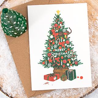 Carte - Sapin de Noël