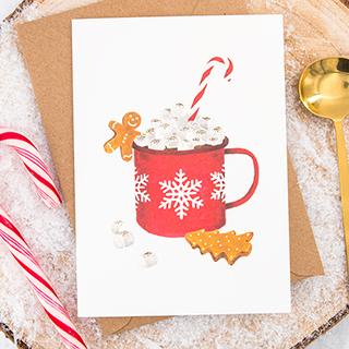 Carte - Winter mug