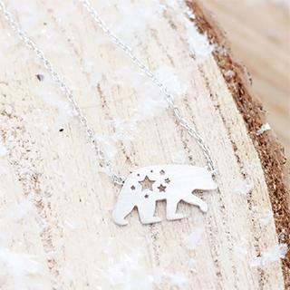 Polar bear - collier