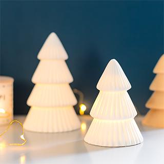 Décoration lumineuse - Sapin blanc