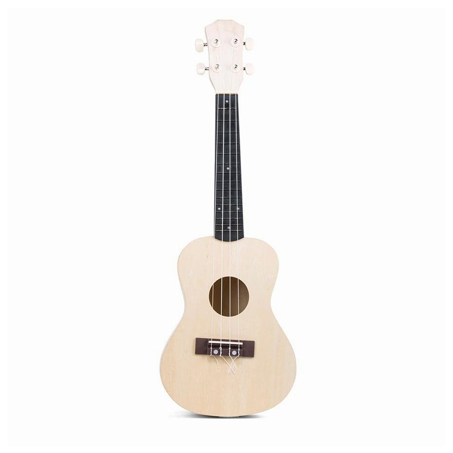 make your own ukulele diy kit by kikkerland. Black Bedroom Furniture Sets. Home Design Ideas