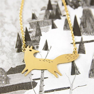 Collier Titlee - renard