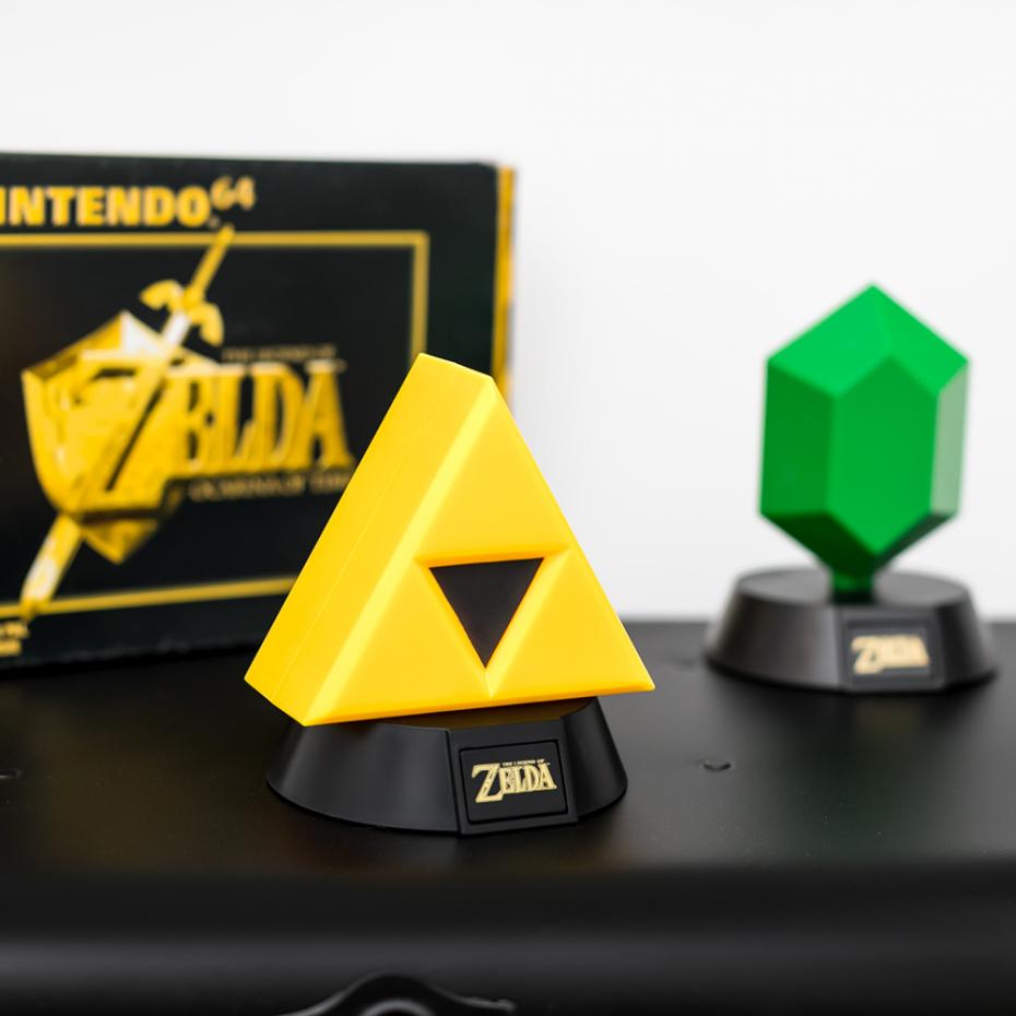 The Legend Of Zelda Triforce Mini 3d Light Light By Paladone