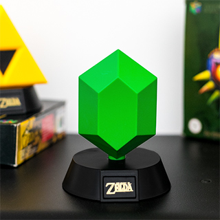 The Legend of Zelda mini lampe - Rubis vert