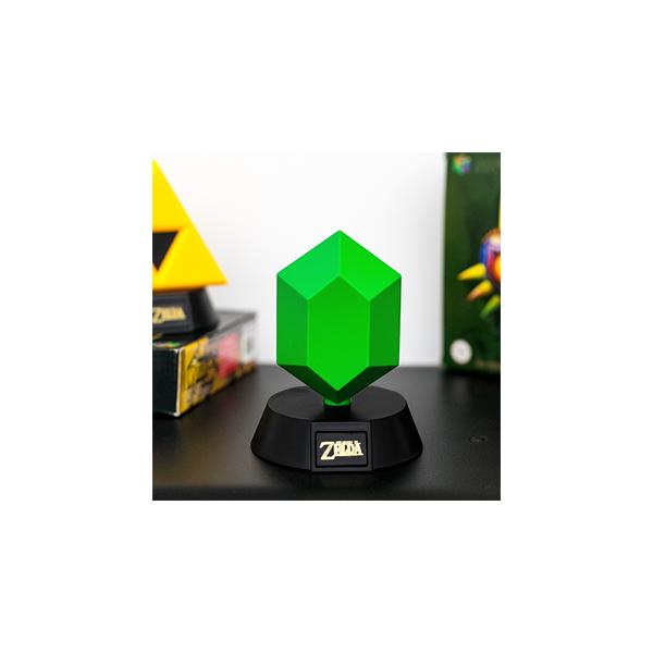 The Legend Of Zelda Green Rupee Mini 3d Light Light By Paladone